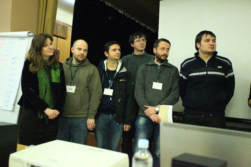 команда, которая работала над проектом AdAstra - 4-ое место.